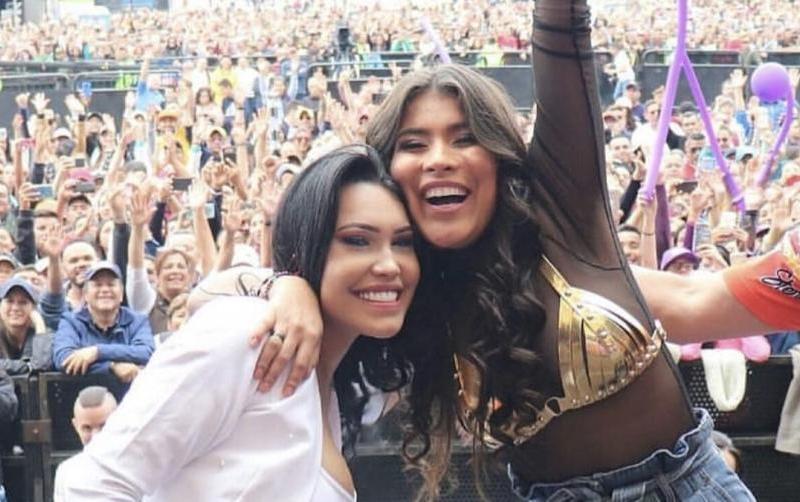Se Termina La Rivalidad Entre Ana Del Castillo Y Karen Lizarazo