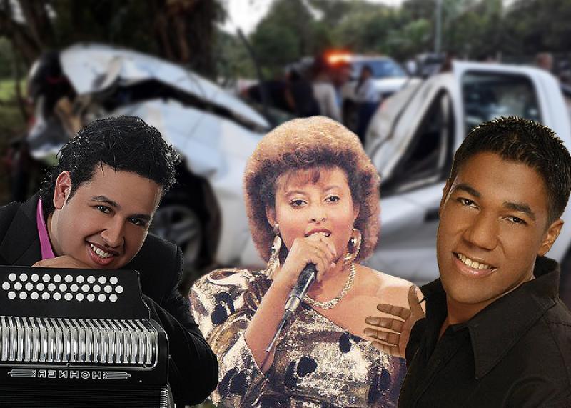 7 Muertes Trágicas De Artistas Vallenatos En Carreteras