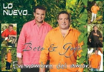 'En Nombre Del Amor', La Nueva Produccion Discografica de Beto Zabaleta Y Goyo Oviedo