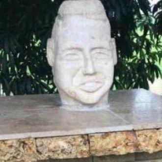 Apareció Busto De Martín Elías, Que Había Desaparecido