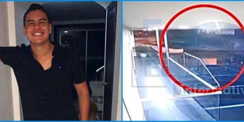 Cámara De Seguridad Grabó El Momento Exacto Del Accidente De Moisés Diaz, Hijo De Diomedes