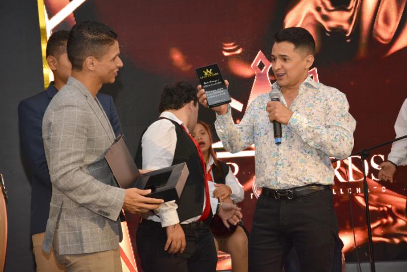 Jorge Celedón, El Homenajeado En Lanzamiento De Los Premios Upar Awards En Valledupar