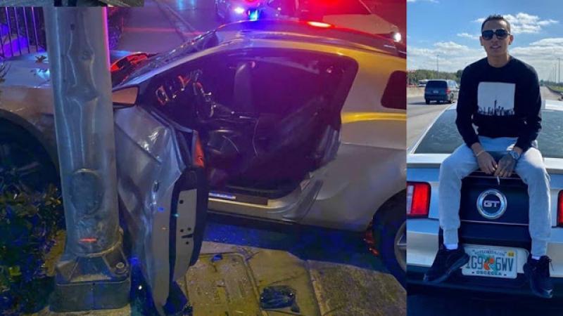 Hijo De Diomedes Díaz Se Accidentó En Miami
