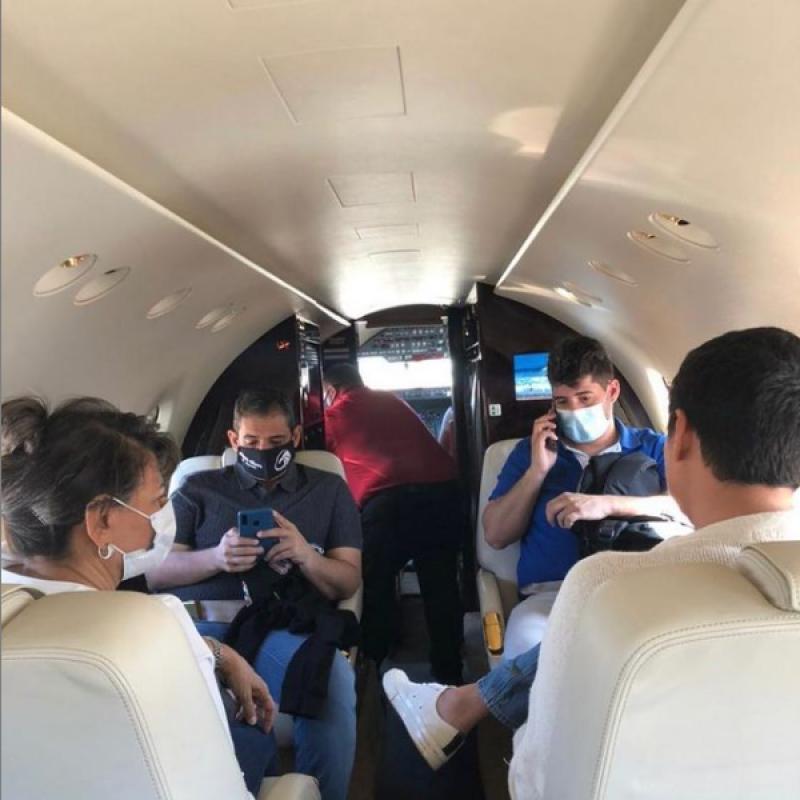 Jorge Oñate Fue Trasladado En Avión Ambulancia Al Hospital Pablo Tobón Uribe, Medellín