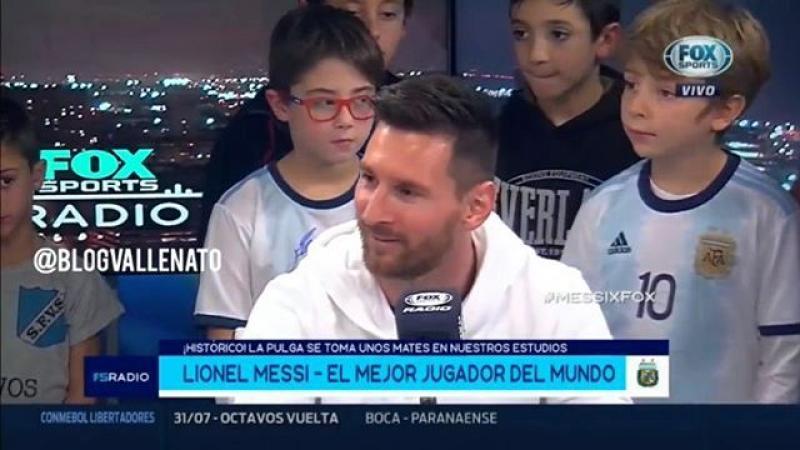 Una Hoja En Blanco Es La Canción Favorita De Leo Messi