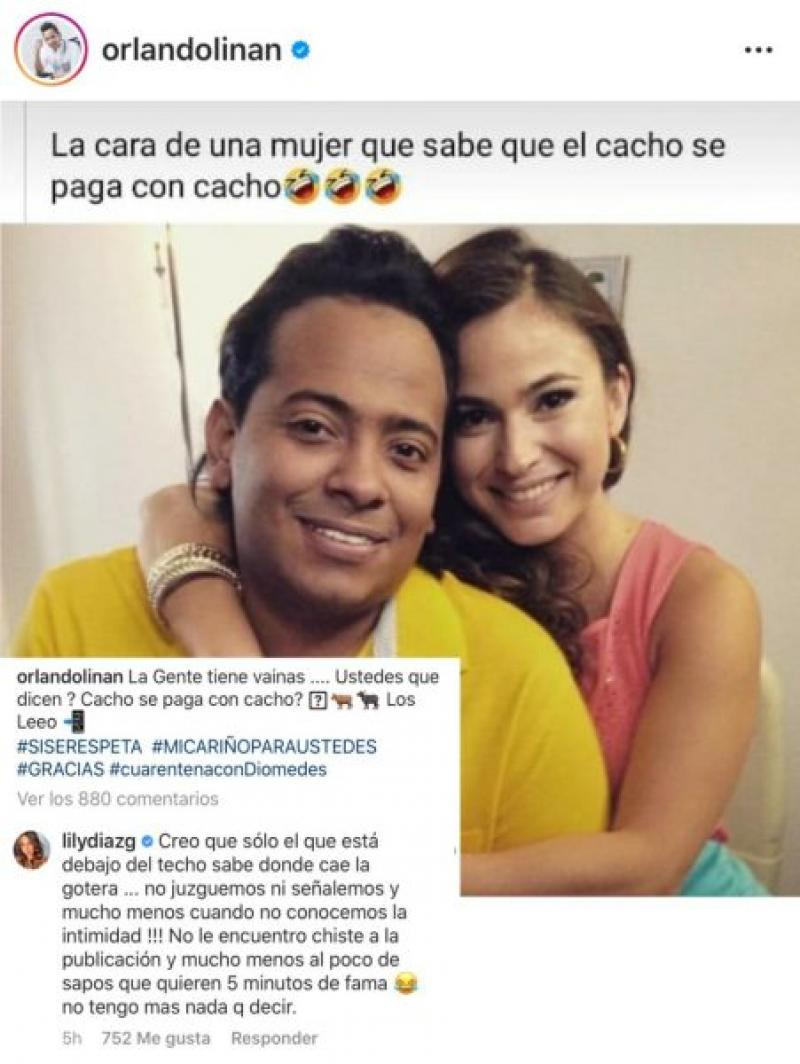 Orlando Liñan Hizo Enojar A Lily Díaz