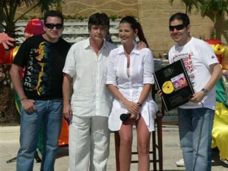 Peter  Y Sergio, Protagonistas del Carnaval
