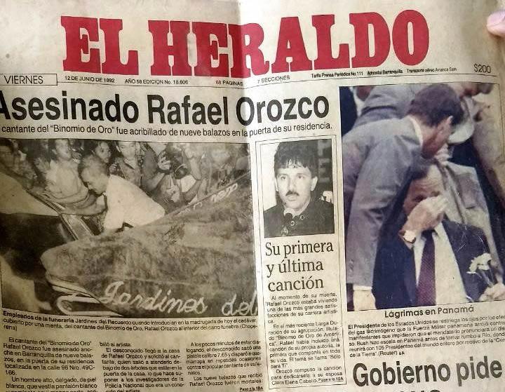 Muerte de Rafael Orozco:...