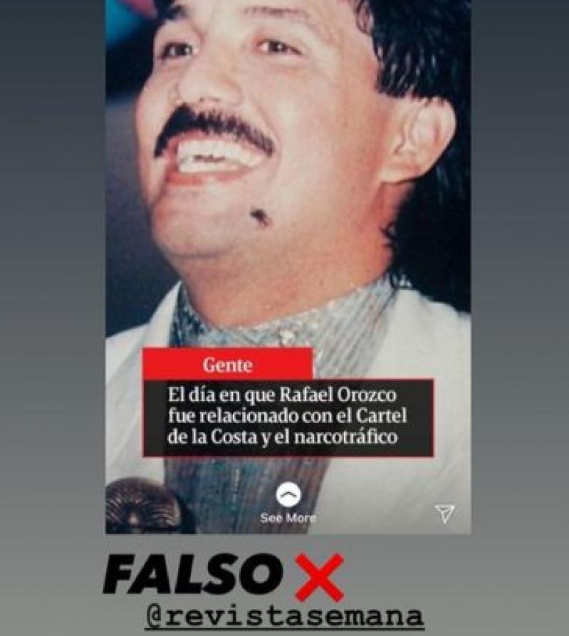 Hijas De Rafael Orozco Molestas Con Famosa Revista Por Publicar Información Falsa Sobre Su Padre