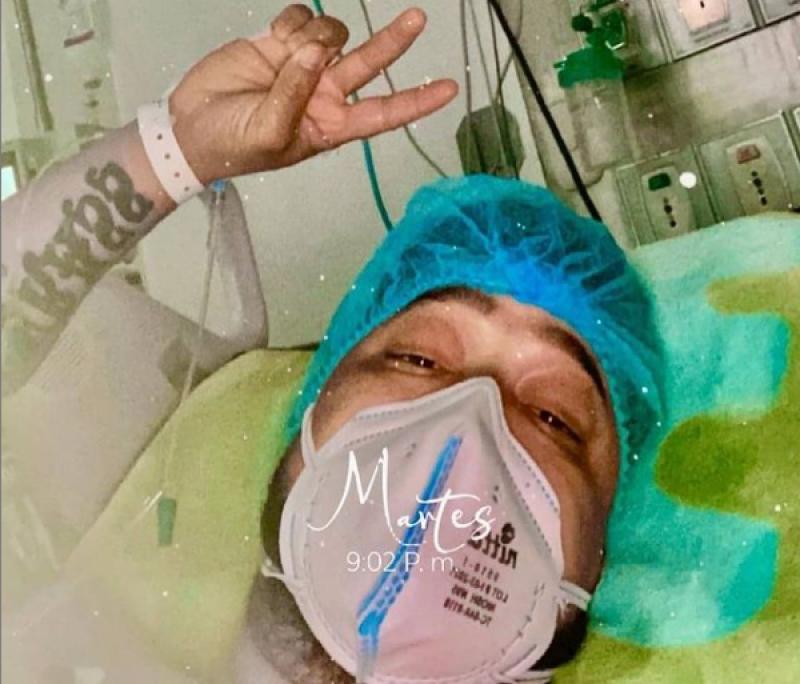 A Yader Romero Le Realizaron Un Cateterismo Cardiaco