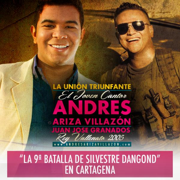 La 9a batalla de Silvestre Dangond en Cartagena