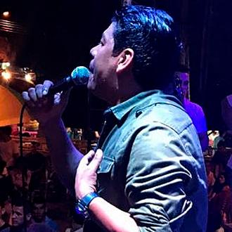 Alex Manga en concierto de reencuentro en Caucasia