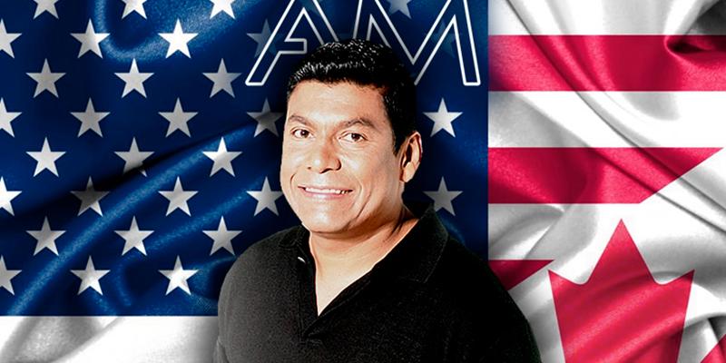 Alex Manga a celebrar la independencia en Norteamérica
