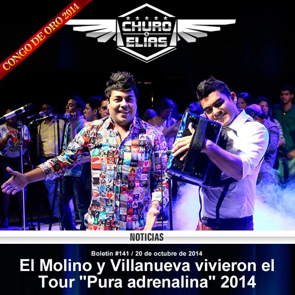 El Molino y Villanueva vivieron el Tour