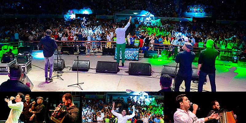 Elkin Uribe & Poncho Monsalvo empezaron el 2018 con  gran concierto en Valledupar