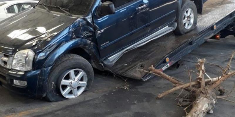 Fuerte accidente sufrió Fabián Corrales