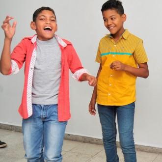 Estudiantes becados ganaron concurso de piqueria infantil...