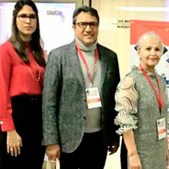 En conferencia internacional de Cultura Rodolfo Molina...
