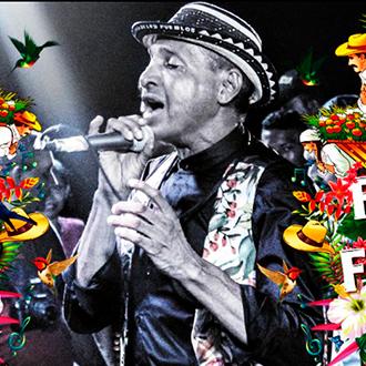 Farid Ortiz en la Feria de...