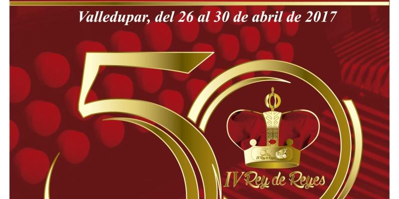 Programación Oficial Del 50 Festival De La Leyenda Vallenata Iv Rey De Reyes