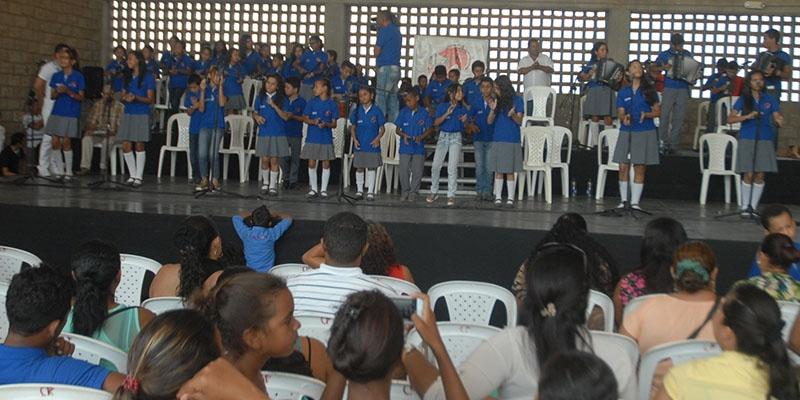 Grado en música vallenata recibirán 145 alumnos de  la institución educativa Francisco Molina Sánchez