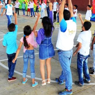 Exitosa jornada l�dica-recreativa para 178 estudiantes