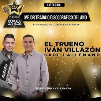 Premios La Cúpula Vallenata Para Iván Villazón