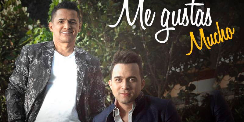 Jorge Celedón Y Sergio Luis Rodríguez Presentan Me Gustas Mucho