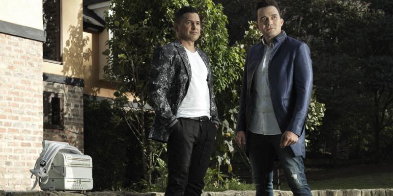 Jorge Celedón y Sergio Luís Rodríguez presenta su álbum