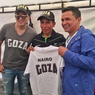 Nairo Quintana GOZA con Jorge...