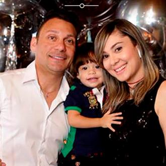 Jean Carlos Centeno celebró un cumpleaños inolvidable