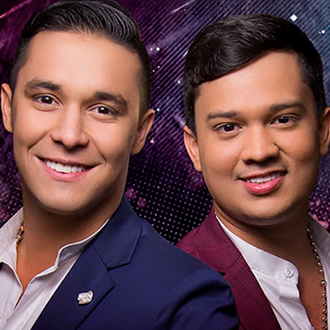 Jhon Mindiola y Camilo Carvajal,...