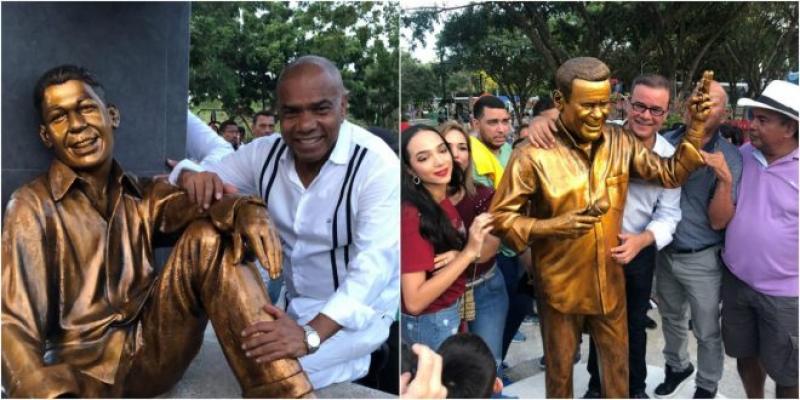 Estas Son Las Estatuas De Kaleth Morales E Iván Villazón