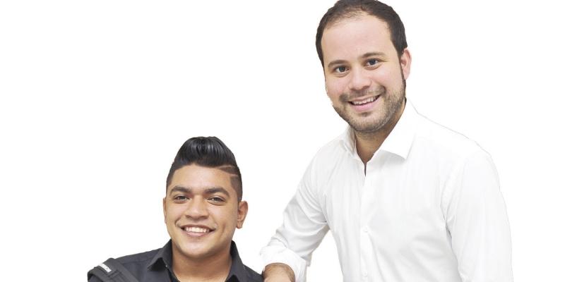 Iván David y Jesús Ocampo de camino al éxito