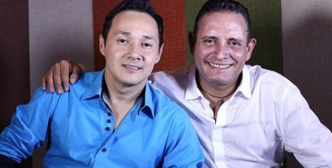 Orlando Acosta y Julian Rojas...