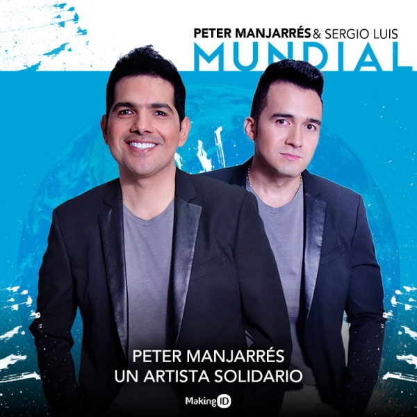 Peter Manjarr�s un artista solidario