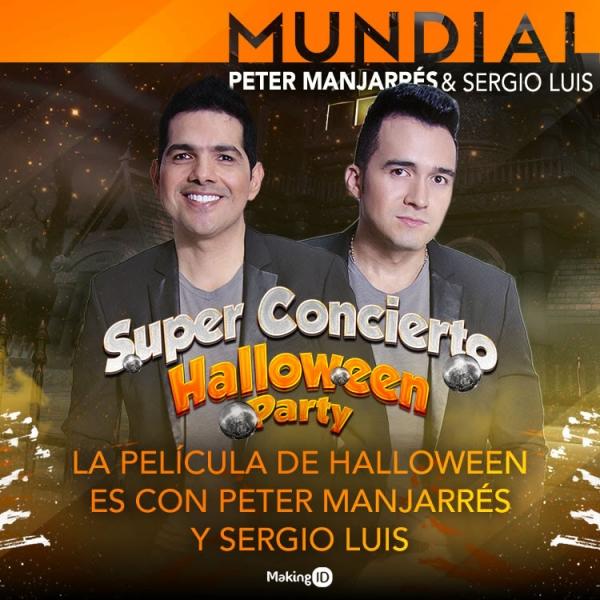 La Pel�cula De Halloween  Es Con Peter Manjarr�s Y Sergio Luis
