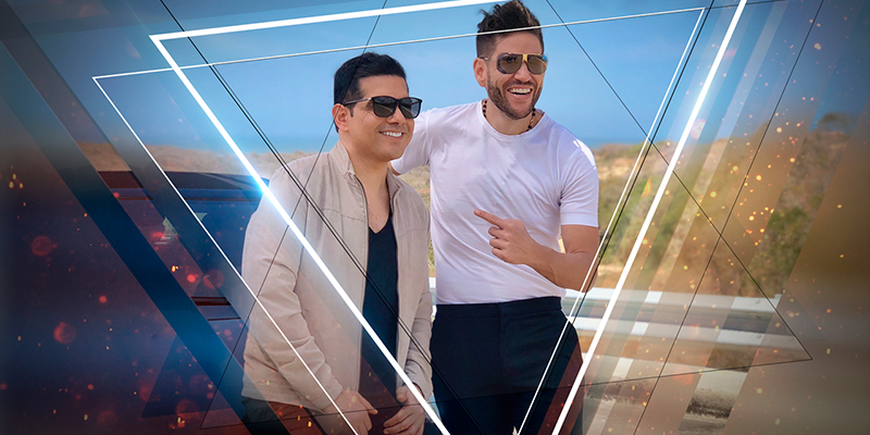 Peter Manjarrés Y Juancho De La Espriella Hicieron El Rodaje Del Videoclip De - La Que No Me Conoce