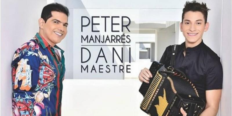 Peter Manjarrés Presentó A Daniel Maestre Como Su Nuevo Acordeonero