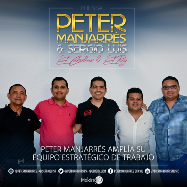 Peter Manjarr�s Ampl�a Su Equipo Estrat�gico De Trabajo