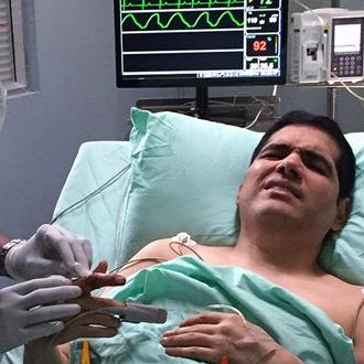 Peter Manjarr�s En El Cap�tulo Estreno De Sala De Urgencias...