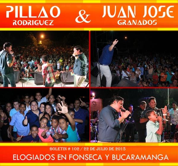 Elogiados en Fonseca y Bucamanga.