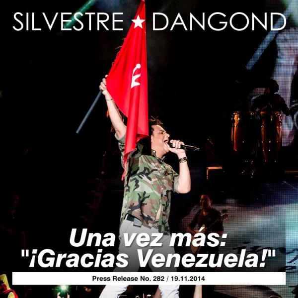Una vez más Gracias Venezuela