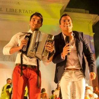 Michel Torres y Javier Matta...